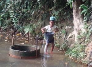 Sauberes Trinkwasser für die Kinder in Ntui Essong