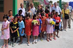 Kinderschutzzentrum CPDC eröffnet Haus Nr. 7 + 8