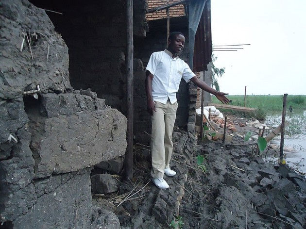 Schweres Unwetter in Burundi