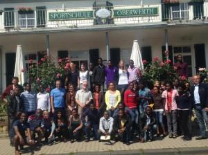 Human Help Network untertstützt 1.deutsch-ruandische Jugendtagung in Koblenz-Oberwerth