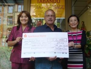 Tabandu unterstützt Kinderschutzprogramm in Thailand