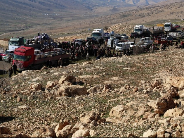 Hilfe erreicht Sinjar-Gebirge