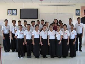 Kambodscha - Glücklich über Stipendium