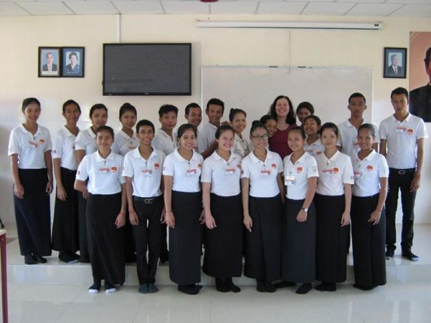 Kambodscha – Glücklich über Stipendium