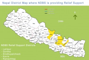 Nepal - Die Anstrengungen zur Hilfe sind enorm