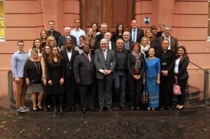 Feierlichkeiten im Landtag anlässlich des 25. Jubiläums von Human Help Network