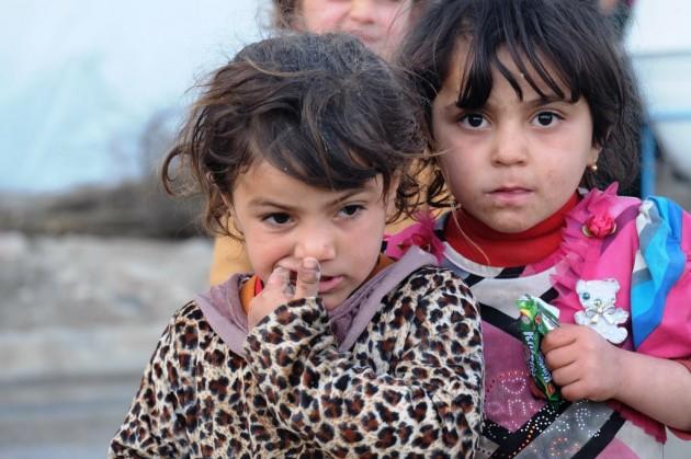Winterpakete für Flüchtlinge im Sinjar Gebirge im Irak