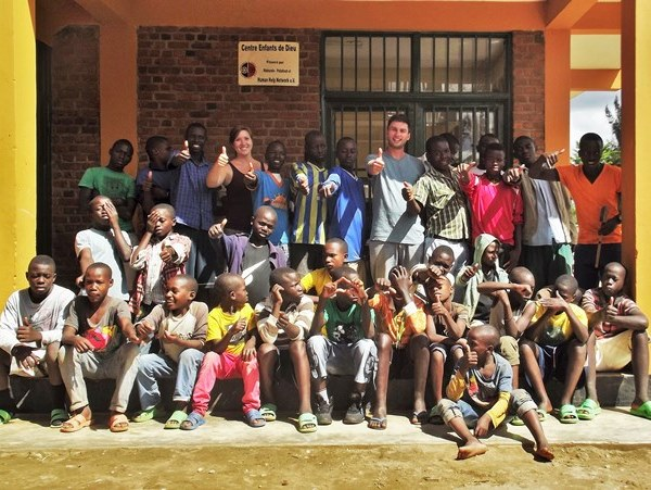 "Minister – Wahlen beim Straßenkinderzentrum ""Les Enfants de Dieu"""