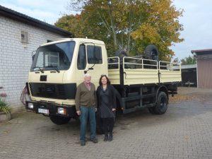 LKW für Berufsausbildungsbetriebe Friedensdorf Kuron
