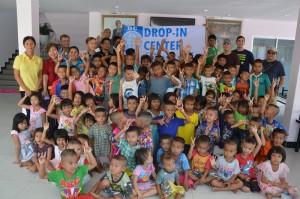 Täglich volles Haus im Daycare Center, Pattaya