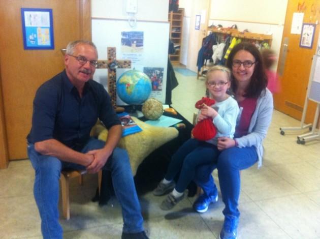 Kollekte beim Weltkindertags 2016 für Kinderfamilien