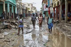 Unterstützung für Hurrikan-Opfer in Haiti