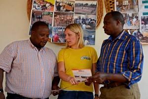 Projektbesuch vor Ort bei STRIVE Foundation in Kigali, Ruanda