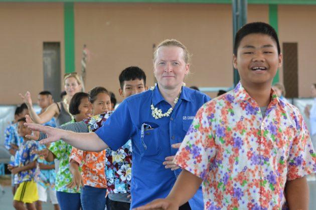 Joey Kelly besucht Kinderschutzprogramm in Thailand
