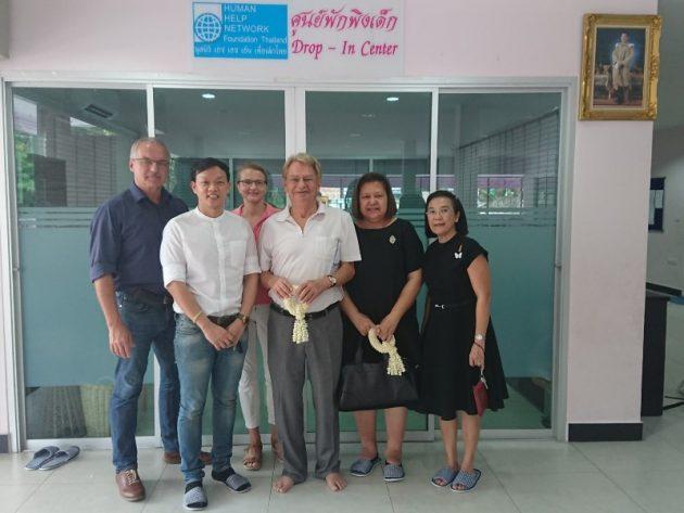 Hans Günter Müller gründet Education Fonds Thailand