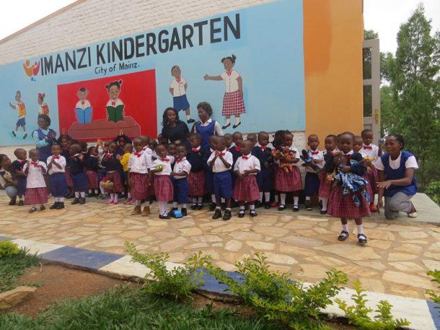 Eröffnung der ersten Kindergruppe im IMANZI Kindergarten City of Mainz, Kigali