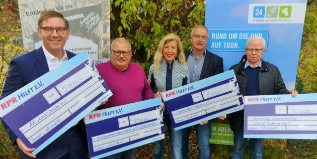 """Wandern für einen guten Zweck: Benefizwanderung """"24 Stunden Rheinland-Pfalz"""""""