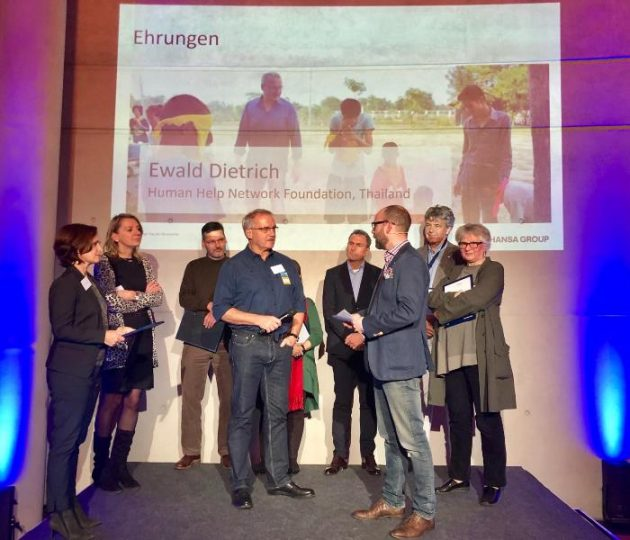 """Lufthansa-Mitarbeiterorganisation """"help alliance"""" ehrt Ewald Dietrich"""