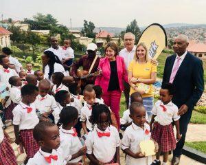 Offizielle Einweihung des IMANZI Kindergarten City of Mainz in Kigali