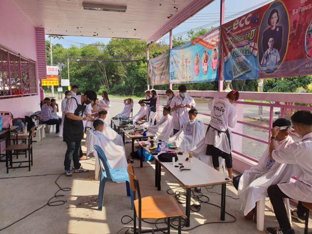 John Salon Beauty School unterstützt Human Help Network Foundation Thailand