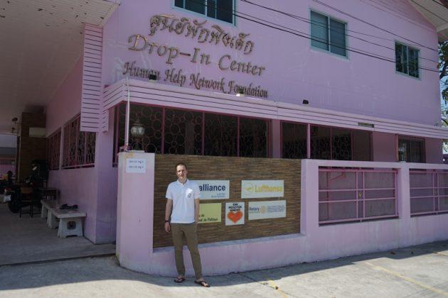 Neuer Volontär unterstützt Arbeit im Kinderschutzprogramm in Thailand