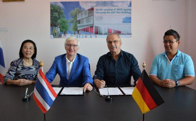 HHNFT plant Neubau des ASEAN Education Centers in Pattaya
