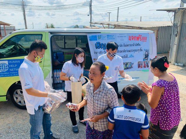 Umsichtige Corona-Prävention im Kinderschutzzentrum von Human Help Network Foundation Thailand