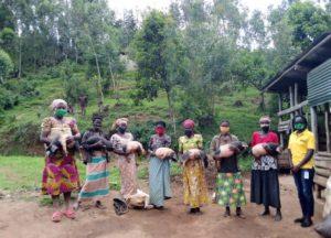 Neues Projekt für Frauenkooperative Amahoro