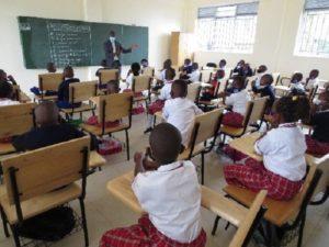 Eröffnung der IMANZI Primary School in Kigali
